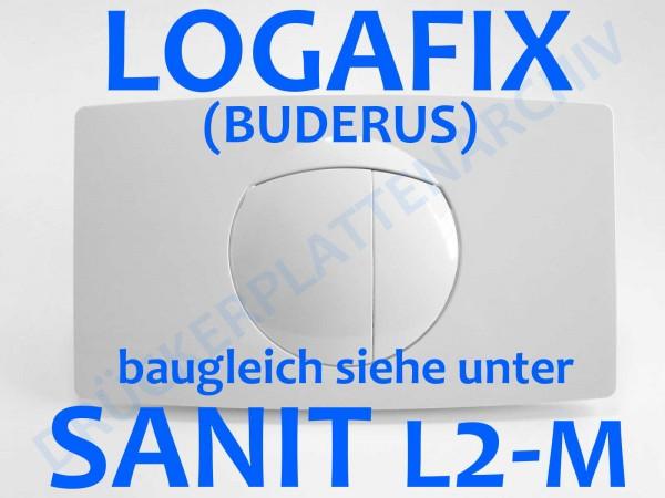 LOGAFIX Wandeinbau-Spülkasten